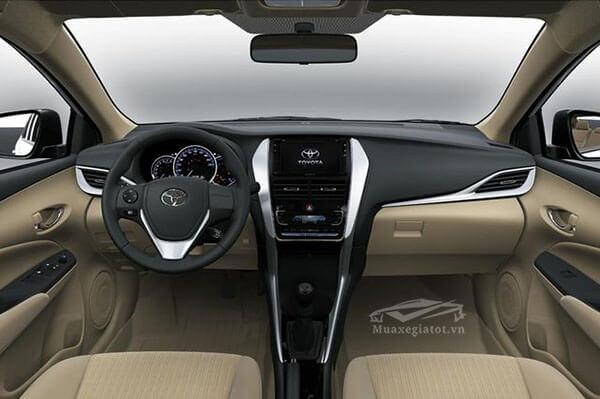 toyota vios 2018 2019 noi that xe muaxegiatot vn - Nội thất của xe Toyota Vios 2021 có gì mới?