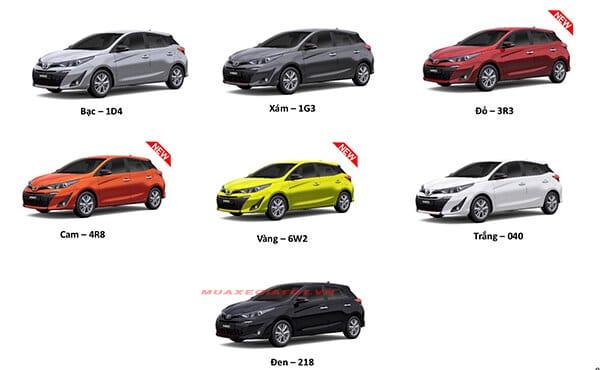 mau xe toyota yaris 2019 muaxegiatot vn - Toyota Yaris 2021 có những điểm gì mới?