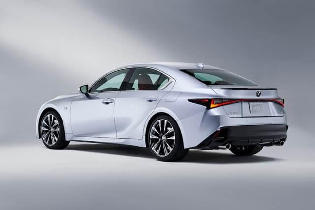 Lexus IS300h 2021 hong xe - Đánh giá xe Lexus IS 300h 2021 - Phiên cao cấp nhất của Lexus IS