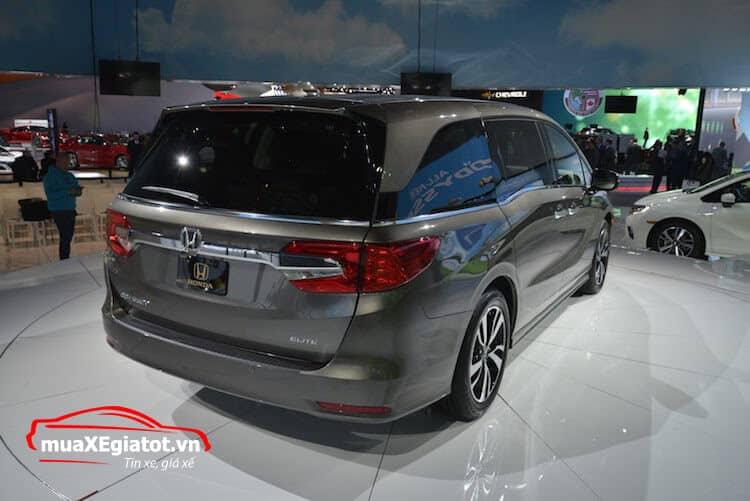 honda odyssey 2017 duôi xe - Đánh giá xe Honda Odyssey 2021 - Hiện đại, tiện nghi, vận hành mạnh mẽ