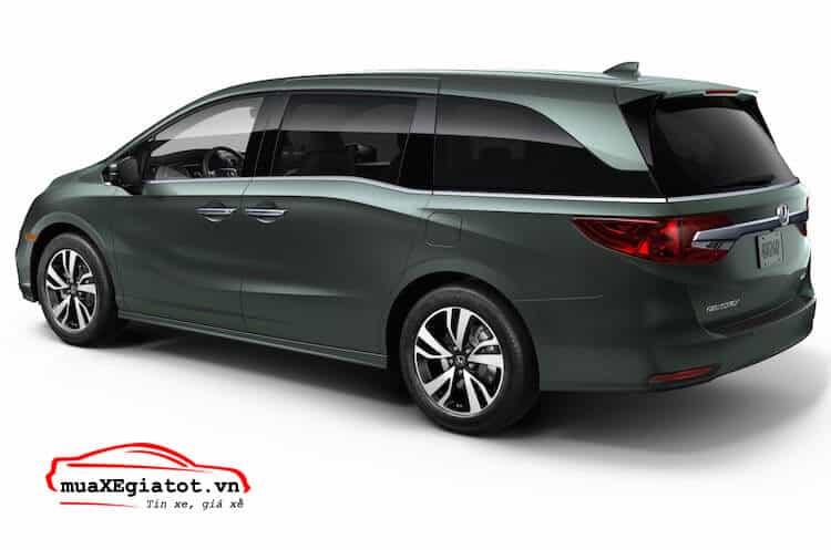 honda odyssey 2017 duoi xe - Đánh giá xe Honda Odyssey 2021 - Hiện đại, tiện nghi, vận hành mạnh mẽ