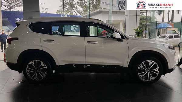 hong xe santafe 2019 may dau dac biet muaxegiatot vn 2 - So sánh VinFast Lux SA2.0 và Hyundai SantaFe 2021 (máy xăng cao cấp)