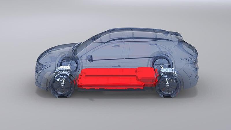 pin duoi san xe vinfast vf e35 tai my muaxegiatot vn - Giới thiệu mẫu xe điện Vinfast VF e35 2022, quân bài chiến lược của Vinfast